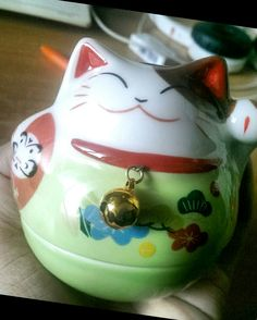 maneki-neko/lucky cat is available at Department Golden Pineapple Please PM/emails us for further info Man Icon, Gym Room, Maneki Neko, Party Looks, Holiday Travel, Fathers Day, Pineapple, Bohemian, Necklaces