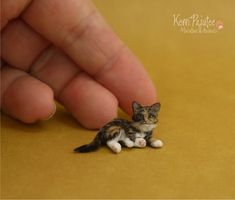 Miniature Kitten by Pajutee