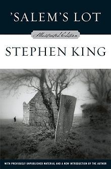 'Salem's Lot by Stephen King I first read this book in 7th grade. Since then, it's been almost a yearly ritual.