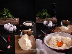 Albóndigas de ricotta con salsa de tomate y albahaca Cupcakes, Grains, Rice, Pasta, Food, Tomato Basil Sauce, Sauces, Traditional Kitchen, Homemade