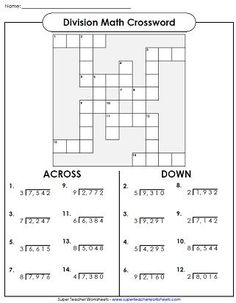 Division Worksheets                                                                                                                                                                                 More