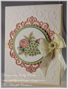 Joyfully Made Designs: Heartfelt Creations - Floral With Cream
