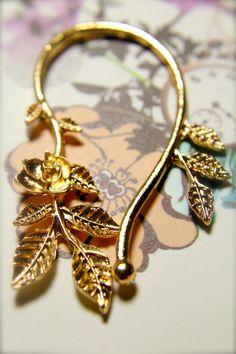 Gold Ear Clip