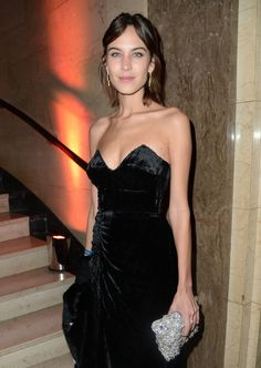 Alexa Chung attends the Warner Music Group & Ciroc Vodka Brit Awards after party at Freemasons Hall on February 24, 2016 in London, England.