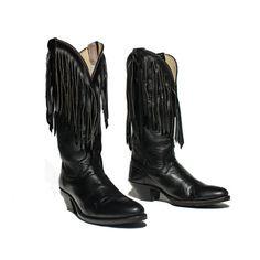 Vintage Chippewa  Harley Davidson Boots Women Black Leather