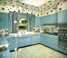 Photo from a 1956 Better Homes and Gardens interior design book.