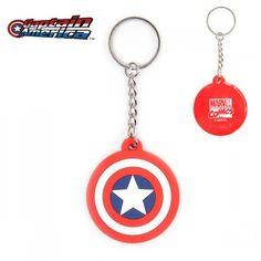 Porte-Clés Logo Captain America Marvel. Kas design, Distributeurs de produits originaux