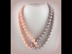 DIY Collares Pearls Design - Jewelry Making - How to Make Beading Necklace + Tutorial !