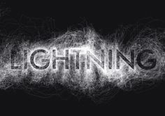 """Fukuoka-based Japanese motion graphic designer and 3D illustrator MountStar has created a wonderful animated typographic series named """"Hidden Typography"""". These elegant, black and white animations feature digital representations of natural elements—i.e. wind, water, lightning and light—that gradually reveals hidden words as they progress.     via DesignTAXI.com"""