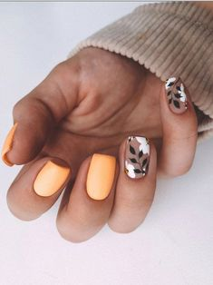 Short Square Acrylic Nails, Short Square Nails, Fall Acrylic Nails, Hot Nails, Swag Nails, Hair And Nails, Grunge Nails, Stylish Nails, Trendy Nails