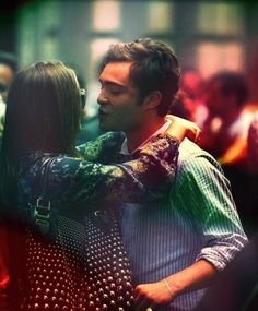 Chuck and Blair. In love even after all these years (: