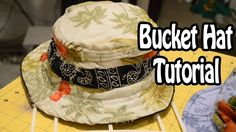 Bucket Hat Tutorial