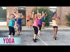 """Got about fan requests for this dance fitness workout to Silento's """"Watch Me (Whip/Nae Nae)""""! Do the new Whip/Nae Nae dance with me and my girls and ma. Zumba Videos, Dance Workout Videos, Dance Exercise, Dance Workouts, Dance Videos, Zumba Routines, Belly Dancing Classes, Yoga Fitness, Dance Fitness"""