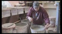 glazing ceramics - YouTube