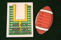 football birthday party invitations free printables
