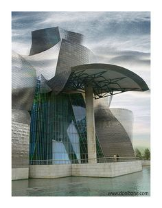 Guggenheim Museum, Spain Frank Gehry #architecture ☮k☮
