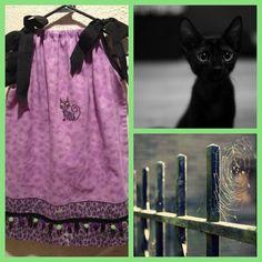 """Halloween pillowcase dress #1 """"The Salem"""""""