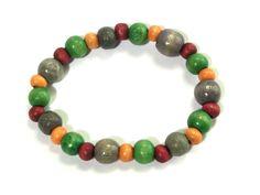 Bracelet - wooden beads from betulek by DaWanda.com