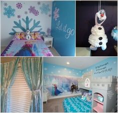 Fabulous Ways to Design a Frozen Themed Room a