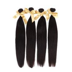 #Fantasyhair #Brazlianhair #virginhair #unprocessedhair #straighthair #hairextension   Wholesale Price 10A Grade Unprocessed Virgin Brazilian Straight Hair Extensions 4 bundles natural color 400g www.fantasyhairbuy.com