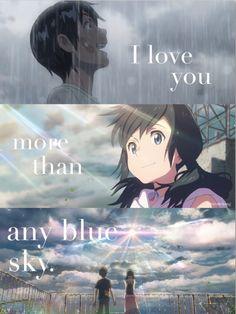 Anime Backgrounds Wallpapers, Cute Wallpapers, Makoto, Kimi No Na Wa, Anime Films, Anime Scenery, Anime Fantasy, I Love Anime, Anime Art Girl