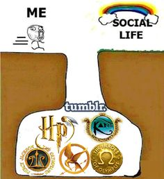 I do KINDA have a social life, even though it's mostly based on my fandoms.... Does that make me a bad fangirl!!??