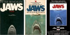 "From Boing Boing, an article about the creation (and unsolved mystery) surrounding the iconic cover art to the Peter Benchley book, ""Jaws""."