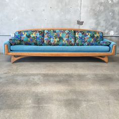 Mid Century Adrian Pearsall Sofa – UrbanAmericana, like the shape, not crazy about the fabric
