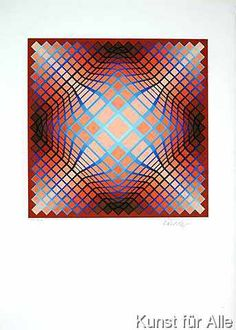 Victor Vasarely - Motiv I