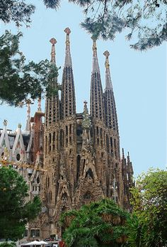 Basilica of the Sagrada Familia - Barcelona, Spain