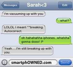 vacuums and breakups