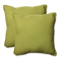 Pillow Perfect Outdoor/ Indoor Fresco Pear Throw Pillow (Indoor Fresco Pear Throw Pillow (Set of Green (Polyester, Solid), Outdoor Cushion Outdoor Pillow Covers, Outdoor Throw Pillows, Outdoor Fabric, Indoor Outdoor, Cedar Hill Farmhouse, Buy Pillows, Pillow Fabric, Perfect Pillow, Throw Pillow Sets