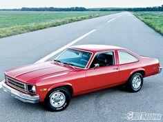 1976 Chevy Nova Coupe, 350 4bbl/350 turbo auto