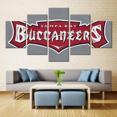 HD Canvas Wall Art  #canvas #nfl #sport #football #art #wall #college High Quality Canvas Wall Art of your Favorite Teams
