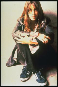 Alanis Morissette -- back when she was an angry girl