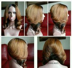IG: @peakmilll, wig maker/stylist