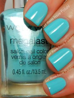 Let them have Polish!: Wet 'n' Wild Megalast Nail Color Swatches