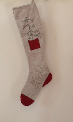 Hey, I found this really awesome Etsy listing at https://www.etsy.com/listing/207704660/primitive-stocking-christmas-stocking