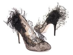 """Valentino """"Lace Tulle"""" pumps"""
