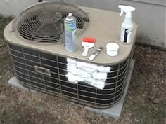 How to Clean Air Conditioner Coils Looking for best residential and #CommercialHeating and #AirConditioningRepair in New Jersey. Visit www.1800hvac.com