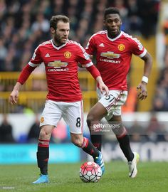 Juan Mata of Manchester United in action during the Barclays Premier League match between Tottenham Hotspur and Manchester United at White Hart Lane on April 10 2016 in London, England