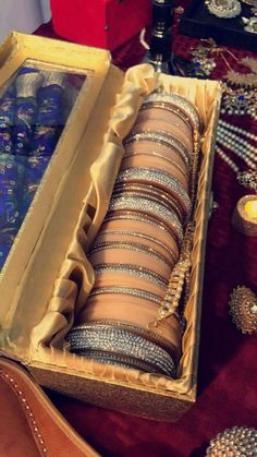 Fulfill a Wedding Tradition with Estate Bridal Jewelry Bridal Bangles, Gold Bangles, Silver Bracelets, Wedding Jewelry, Bangle Bracelets, Wedding Chura, Bridal Chura, Indian Jewelry Earrings, Indian Jewelry Sets