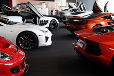 Super car showdown. Can you name them all?