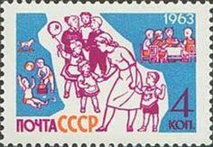 ◇USSR  1963    Children with nurse