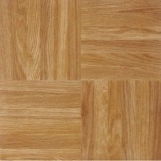 NEXUS Oak Parquet 12x12 Self Adhesive Vinyl Floor Tile - 20 Tiles/20 Sq.Ft. - Walmart.com