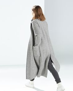 EXTRA LONG COAT-Outerwear-TRF   ZARA United Kingdom