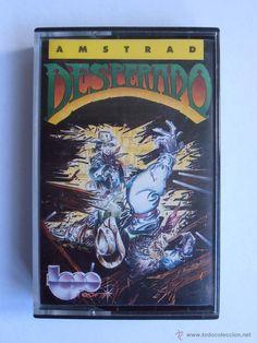 JUEGO CINTA AMSTRAD DESPERADO ERBE TOPO SOFT 1987