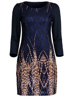 SHARE & Get it FREE | Lace Panel Printed Sheath DressFor Fashion Lovers only:80,000+ Items • New Arrivals Daily • Affordable Casual to Chic for Every Occasion Join Sammydress: Get YOUR $50 NOW!