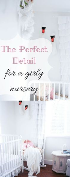 the perfect detail for a girl nursery baby girl decor