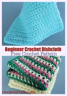Beginner Crochet Projects, Crochet Patterns For Beginners, Crochet Basics, Crochet Blanket Patterns, Crochet Dishcloths Free Patterns, Beginner Crochet Tutorial, Crocheting Patterns, Scarf Patterns, Crochet Instructions